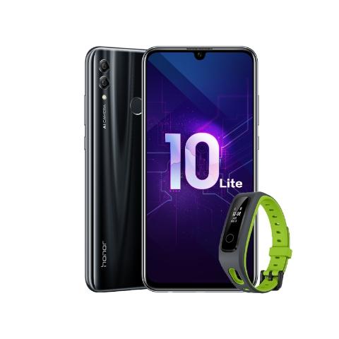 Honor 10 Lite Premium Полночный чёрный